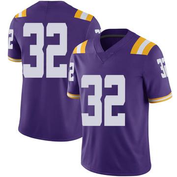 Men's Avery Atkins LSU Tigers Nike Limited Purple Football College Jersey