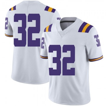 Men's Avery Atkins LSU Tigers Nike Limited White Football College Jersey