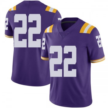 Men's Clyde Edwards-Helaire LSU Tigers Nike Limited Purple Football College Jersey
