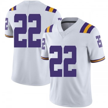 Men's Clyde Edwards-Helaire LSU Tigers Nike Limited White Football College Jersey