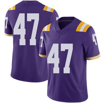 Men's Nelson Jenkins III LSU Tigers Nike Limited Purple Football College Jersey