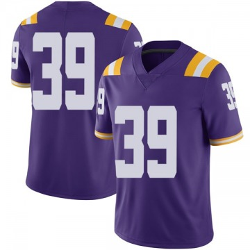 Youth Jack Gonsoulin LSU Tigers Nike Limited Purple Football College Jersey